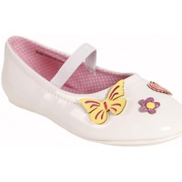 Zapatos Niña Bailarinas-manoletinas Flower Girl 220401-B2040 Blanco