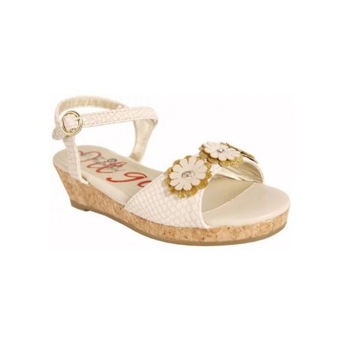 Zapatos Niña Sandalias Flower Girl 221001-B4600 Beige