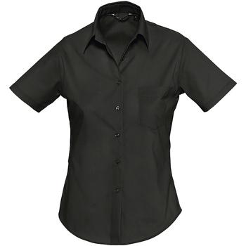 textil Mujer camisas Sols ESCAPE Negro
