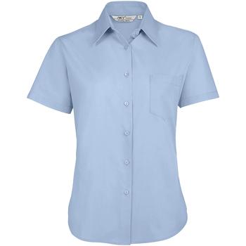 textil Mujer camisas Sols ESCAPE POPELIN WOMEN Azul