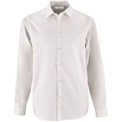 0c5bfc1fe0d textil Hombre camisas manga larga Sols BRODY MEN Blanco