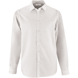 textil Hombre camisas manga larga Sols BRODY MEN Blanco
