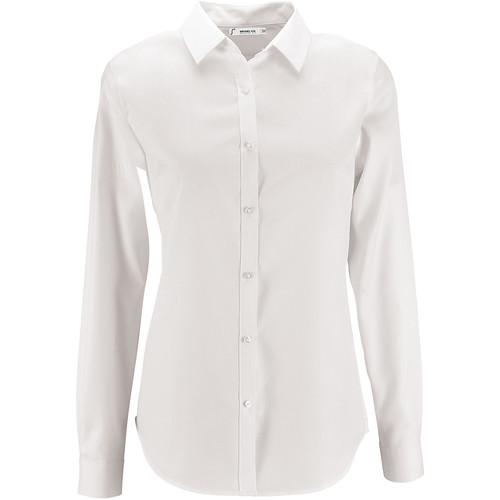 Sols BRODY WOMEN Blanco - textil camisas Mujer