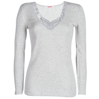 Ropa interior Mujer Camiseta interior Damart FANCY KNIT GRADE 4 Gris