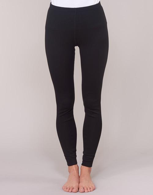 Mujer Damart Grade Classic Textil Negro Leggings 3 2YWD9EIH
