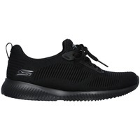 Zapatos Mujer Zapatillas bajas Skechers Bobs Squad Tough Negro