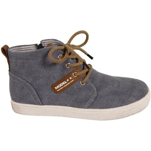 Zapatos Niño Zapatillas altas New Teen 239243-B707 Azul