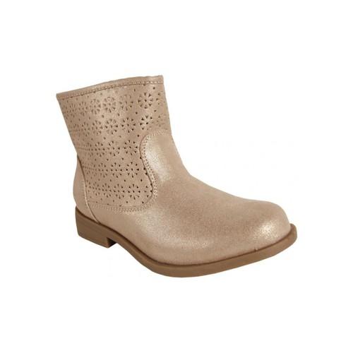 Zapatos Niña Botines Flower Girl 221362-B4020 Beige