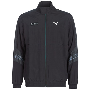 textil Hombre chaquetas de deporte Puma MAPM STREET WOVEN JACKET MERCEDES Negro