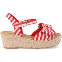 Zapatos Mujer Alpargatas Amy Y288-58 Rojo