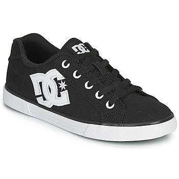Zapatos Mujer Zapatos de skate DC Shoes CHELSEA TX Negro / Blanco