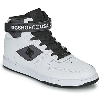 Zapatos Hombre Zapatillas altas DC Shoes PENSFORD SE Blanco / Negro