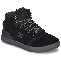 Zapatos Niños Zapatillas altas DC Shoes CRISIS HIGH WNT Negro