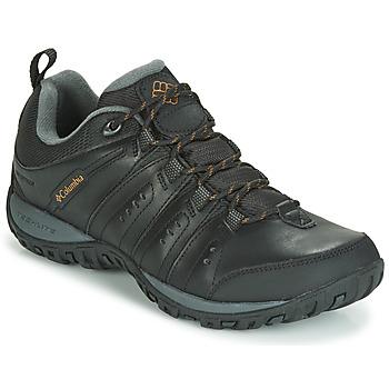 Zapatos Hombre Multideporte Columbia WOODBURN II WATERPROOF Negro