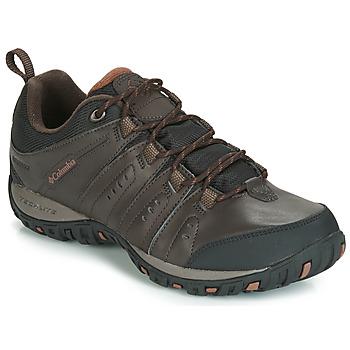 Zapatos Hombre Multideporte Columbia WOODBURN II WATERPROOF Marrón