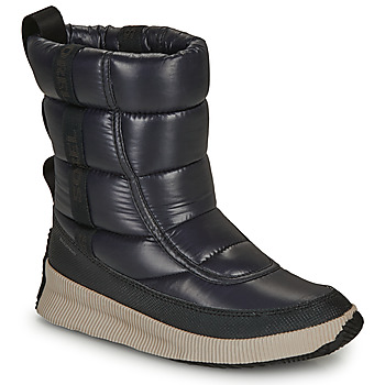 Zapatos Mujer Botas de nieve Sorel OUT N ABOUT PUFFY MID Negro