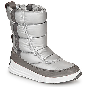 Zapatos Mujer Botas de nieve Sorel OUT N ABOUT PUFFY MID Gris