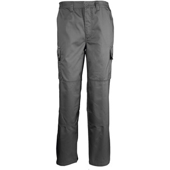 textil Pantalón cargo Sols ACTIVE PRO Gris