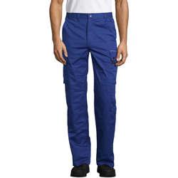 textil Pantalón cargo Sols ACTIVE PRO WORKS Azul