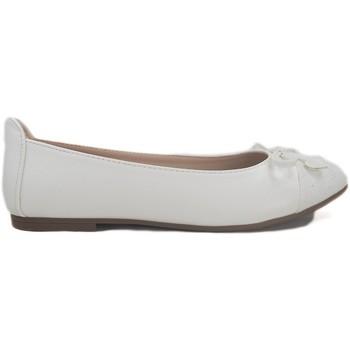 Zapatos Niños Derbie & Richelieu Bubble Bobble Manoletinas  A2482-L Blanco Blanco