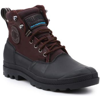 Zapatos Hombre Botas de caña baja Palladium Sport Cuff WP 2.0 75567-222-M marrón, negro