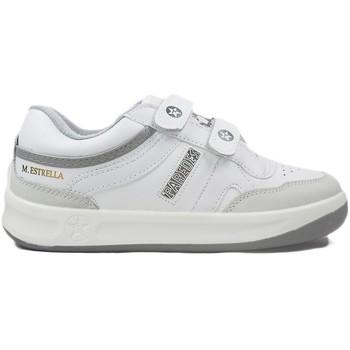 1ba3b4c1a Zapatos Mujer Zapatillas bajas Paredes Zapatillas Estrella Blanco Velcro  blanc