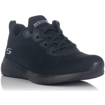 Zapatos Mujer Zapatillas bajas Skechers BOBS SPORT SQUAD - TOUGH TALK NEGRO