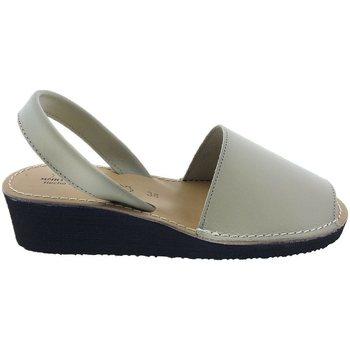 Zapatos Mujer Sandalias Huran Sandalias Menorquinas Cuña  552 Beige Beige