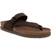 Zapatos Hombre Chanclas Mephisto NIELS Cuero marrón