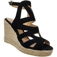 Zapatos Mujer Sandalias Toni Pons Mirna Terciopelo negro