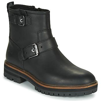Zapatos Mujer Botas de caña baja Timberland LONDON SQUARE BIKER Negro