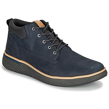 Zapatos Hombre Zapatillas altas Timberland CROSS MARK PT CHUKKA Azul