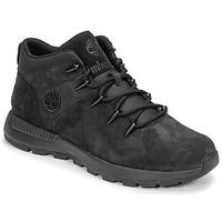 Zapatos Hombre Botas de caña baja Timberland EURO SPRINT TREKKER Negro