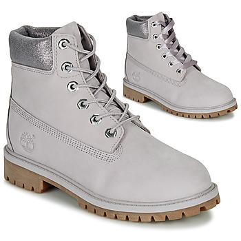 Zapatos Niños Botas de caña baja Timberland 6 IN PREMIUM WP BOOT Gris