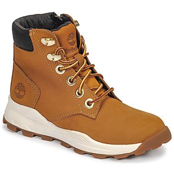 Zapatos Niños Zapatillas altas Timberland BROOKLYN SNEAKER BOOT Trigo