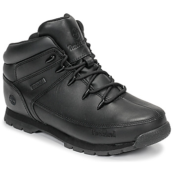 Zapatos Niños Botas de caña baja Timberland EURO SPRINT Negro