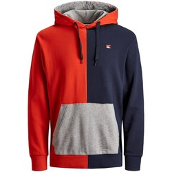 textil Niño sudaderas Jack And Jones Kids 12149893-FieryRed Rojo