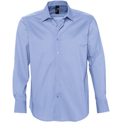 textil Hombre camisas manga larga Sols BRIGHTON Azul