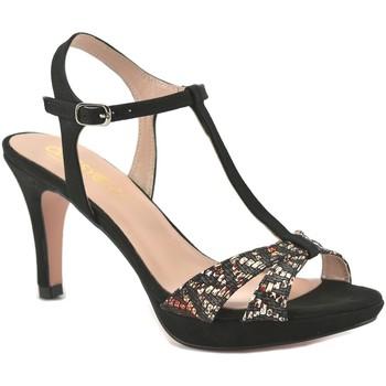 Zapatos Mujer Zapatos de tacón Mayfran Calzados Sandalias de tacón alto by Mayfran Noir