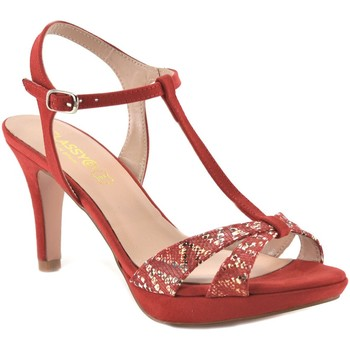 Zapatos Mujer Zapatos de tacón Mayfran Calzados Sandalias de tacón alto by Mayfran Rouge