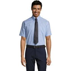 textil Hombre camisas manga corta Sols BRISBANE Azul