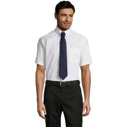 textil Hombre camisas manga corta Sols BRISBANE ORIGINAL WORK Blanco