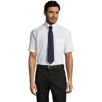 textil Hombre camisas manga corta Sols BRISBANE Blanco
