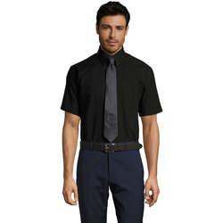textil Hombre camisas manga corta Sols BRISBANE ORIGINAL WORK Negro