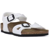 Zapatos Niño Sandalias Birkenstock RIO WHITE Bianco