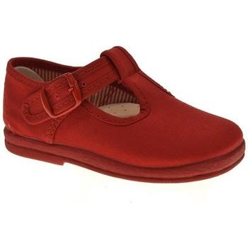Zapatos Niño Zapatillas bajas Duvic LONA NIÑO  ROJO Rojo