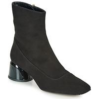 Zapatos Mujer Botas de caña baja Castaner LETO Negro