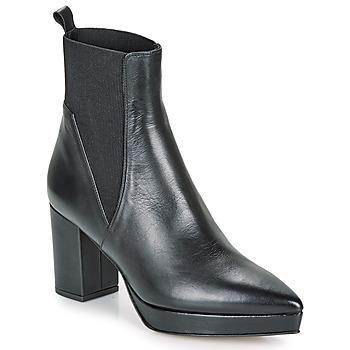 Zapatos Mujer Botas de caña baja Castaner OLGA Negro