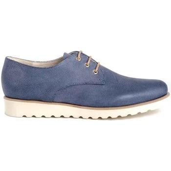 Zapatos Mujer Derbie Funchal 20500 azul