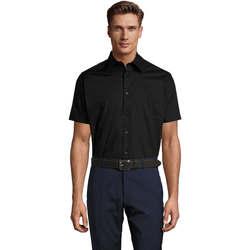textil Hombre camisas manga corta Sols BROADWAY Negro